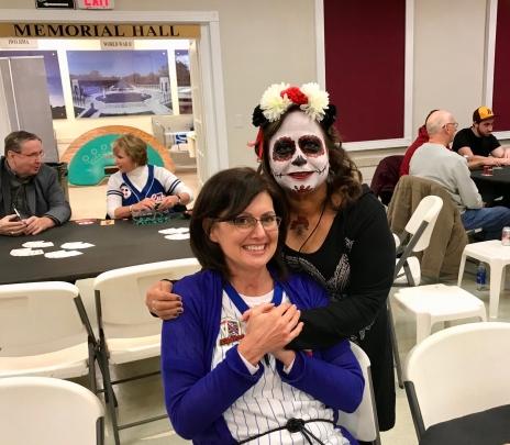 Pam and Halloween Girl